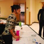 FRSES volunteers coordinating presenters