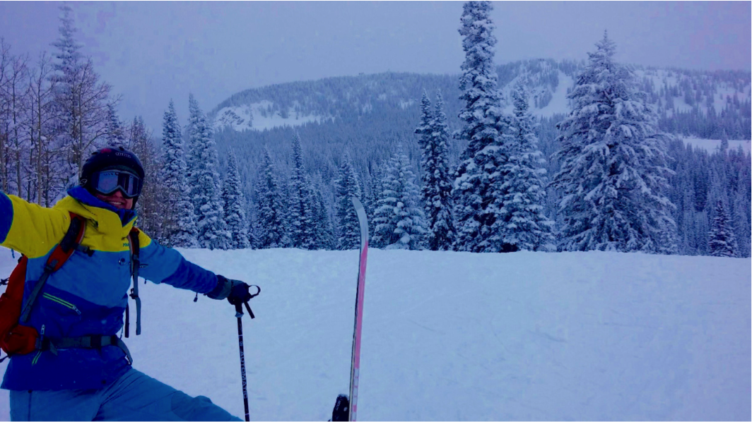 """Sometimes """"the roses"""" are snow-covered trees. Finding my work-life balance in Steamboat Springs in February 2015"""