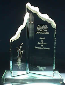 NREL Award of Excellence in Ecosystem Science