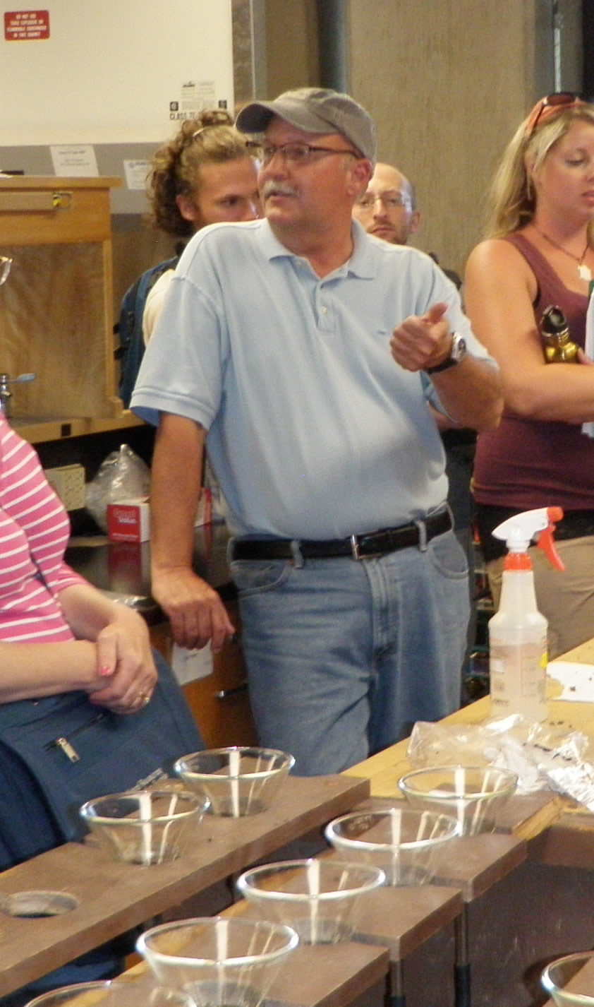 John Moore teaching at the Summer Soil Institute