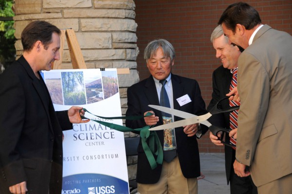 North Central Climate Science Center ribbon cutting ceremony