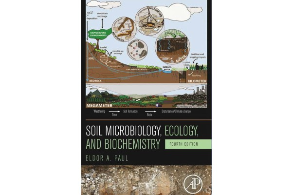 Image of Soil Microbiology, ecology and biochemistry book cover.