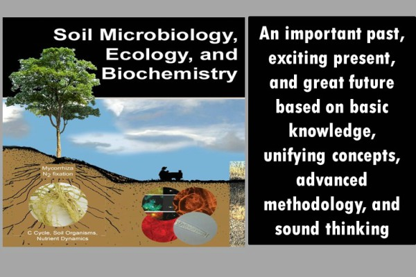 Graphic of Soil Microbiology.