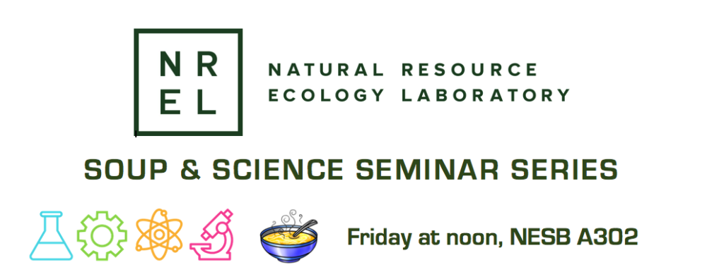 Soup & Science Seminar Banner
