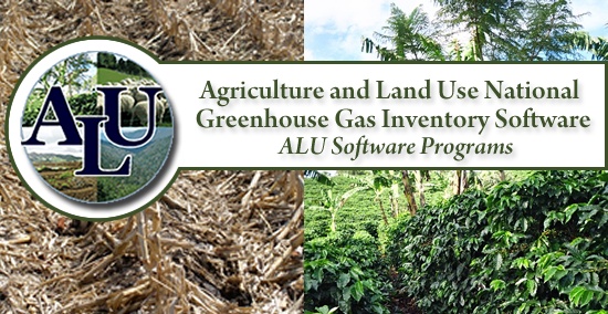 Agriculture and Land Use National Greenhouse Gas Inventory Software logo.
