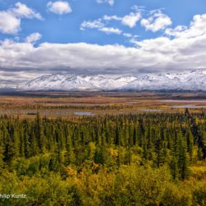 Landscape photo of Alaskan tundra