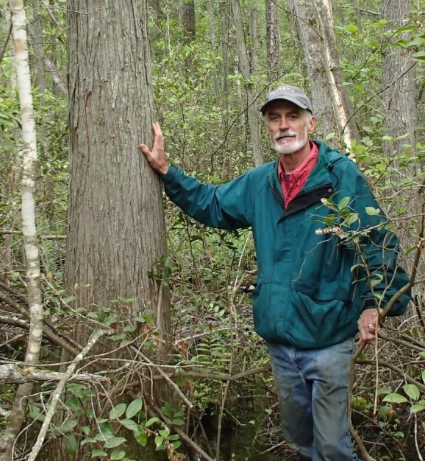 Photo of John Bunch, citizen science volunteer