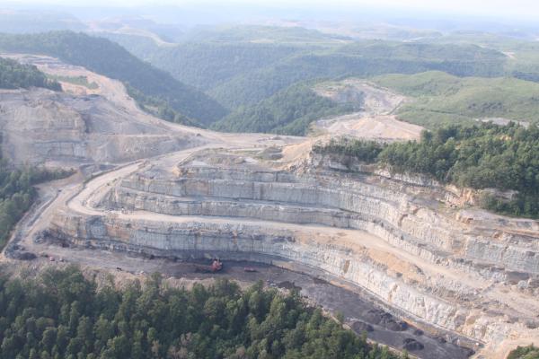 Hilltop mining