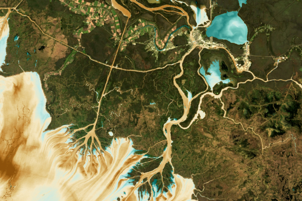 Digital imagery of watershed system