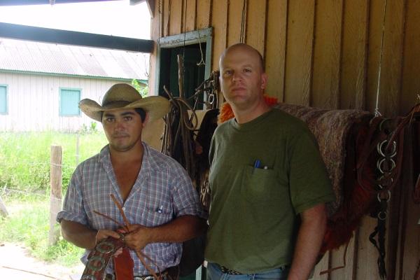 Rich Conant with Brazilian Cowboy
