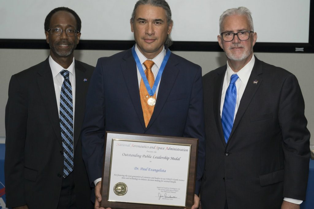 Paul Evangelista won NASA award